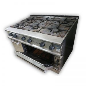 Electrolux Commercial 6 burner with oven