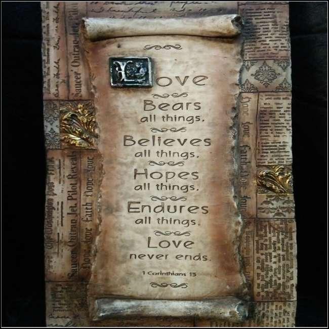 Wooden plaque decoration pj d kaki lelong