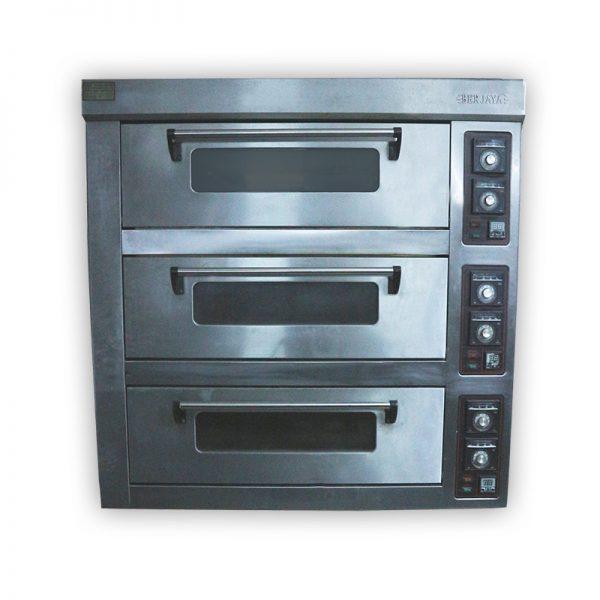 Professional 3-door Oven