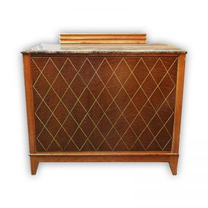 Wooden Cabinet with Marble Top