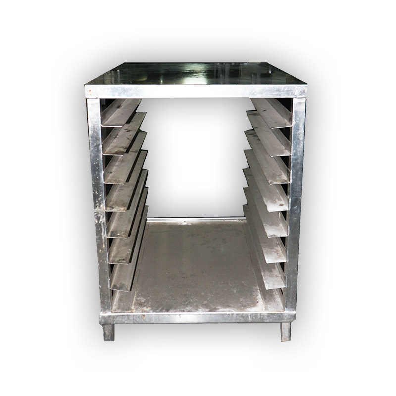 Commercial Stainless Steel Tray Rack Kaki Lelong