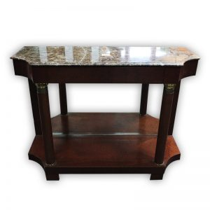 Wall Table with Marble Top