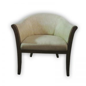 Cushioned Lounge Chair