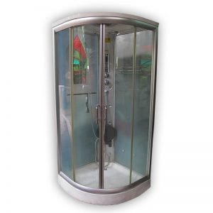 Universal all-in-one Corner Shower Cabin