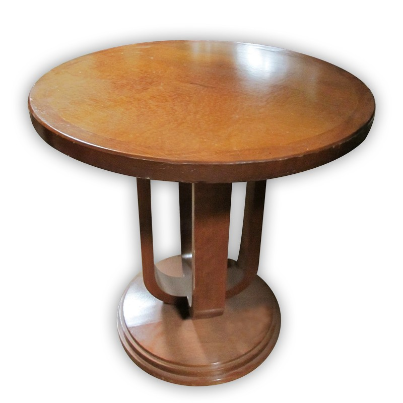 Wooden Side Table Kaki Lelong Everything Second Hand