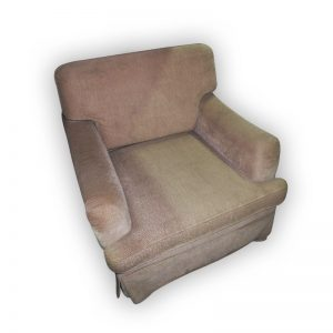 Single Seater Sofa with skirting