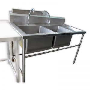 Double Basin Stainless Steel Sink