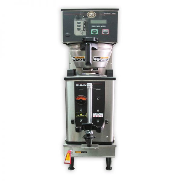 Automatic Coffee Brewer with Portable Server