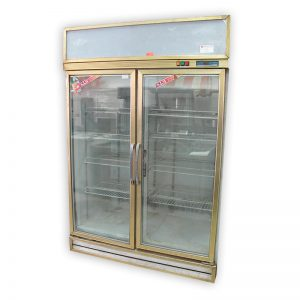 2 Glass Door Chiller