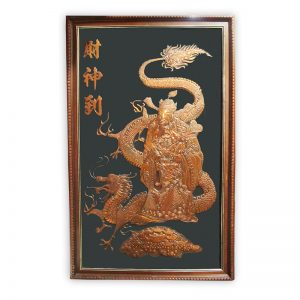Chinese Art Embossed Deco