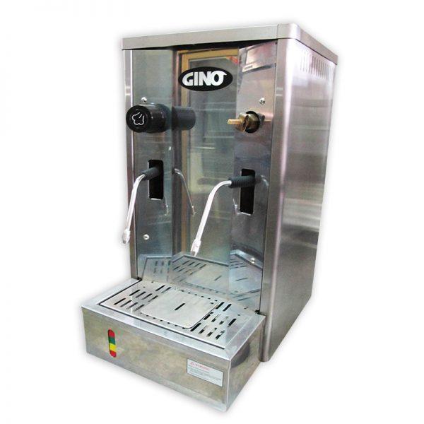 Steam and hot water machine