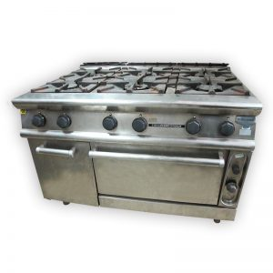 Electrolux 6-burner Gasstove with Oven