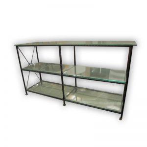 Presentation Rack with Glass Shelves