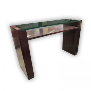 Study Table with Glass Top