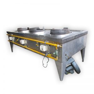 Industrial 3-burner Stove (High Pressure)