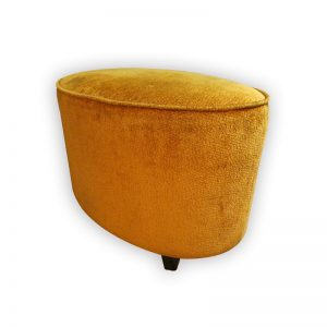 Art Deco Fabric Stool