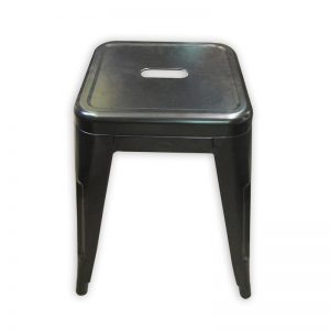 Industrial Look Steel Stool