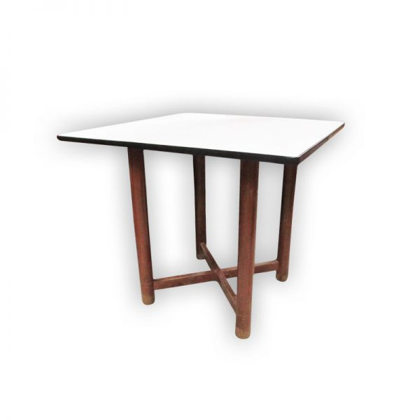 Wooden Dining Table with white Top