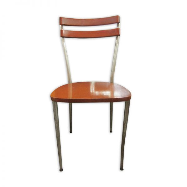 Wooden Dining Chair with Metal legs