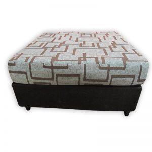 Square Cushioned Resting Stool 80cm