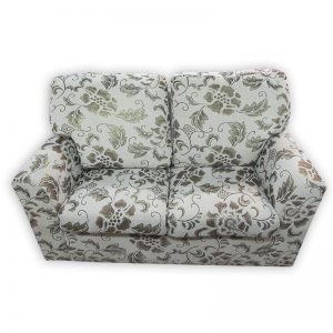 Golden Floral motive 2-seat Couch
