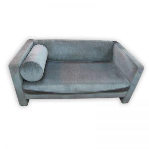 2-seat Velvet Sofa with pillow