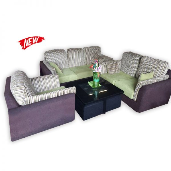 Fabric Couch Set 3+2+1