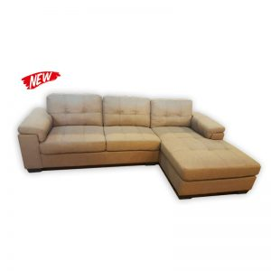 Fabric L-shape 3 Seat Couch