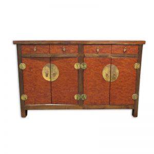 4-Door Antique Cabinet