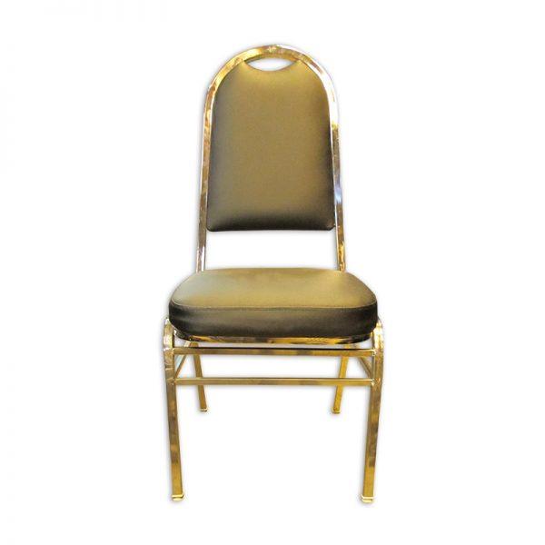 Cushioned PU Banquet Chair