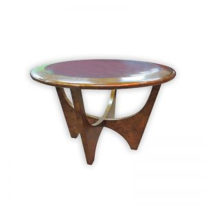 Wooden Coffee Table Ø74cm