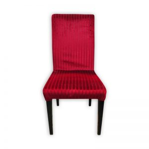 Red Velvet Restaurant Dining Chair