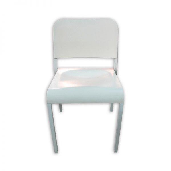 White Restaurant Dining Chair