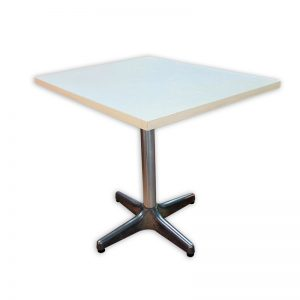 White Restaurant Table