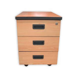 Office Pedestal with 3 drawers