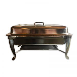 Stainless Steel Rectangular Chafer - Chafing Food Warmer