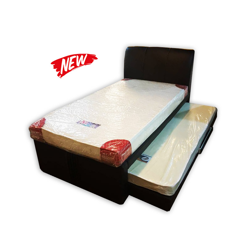 Super Single Mattress With Frame Headrest And A Storable