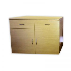 2-Door Cabinet with 2 Drawers