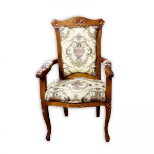 Baroque-style Chair with Armrests