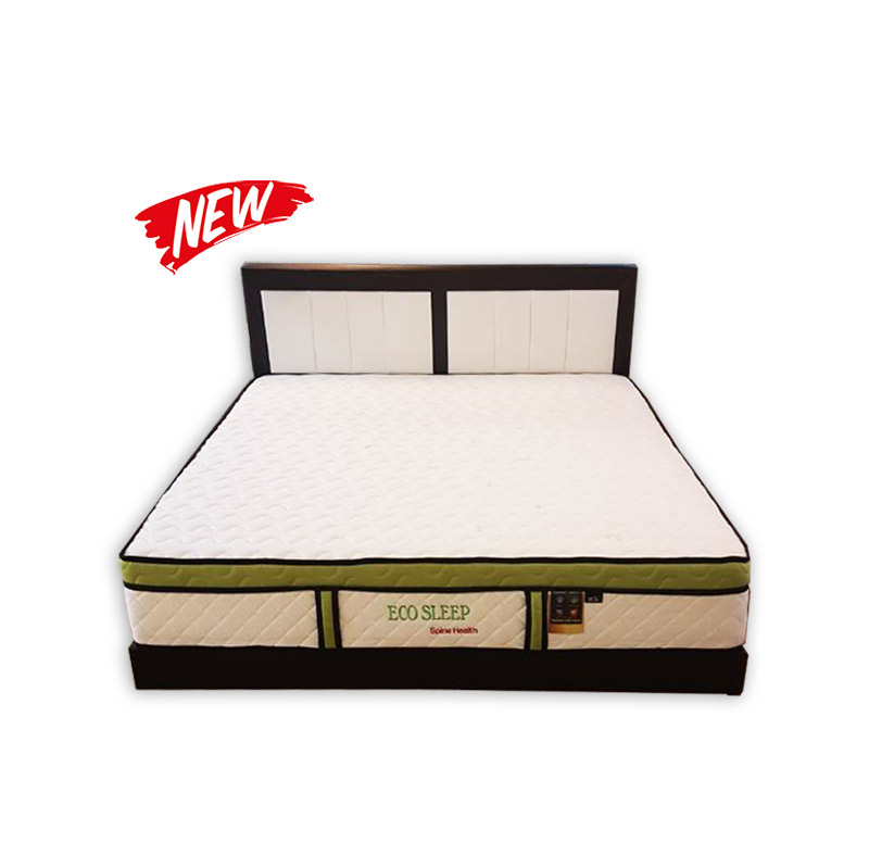 King Size Mattress Divan And Headrest Kaki Lelong