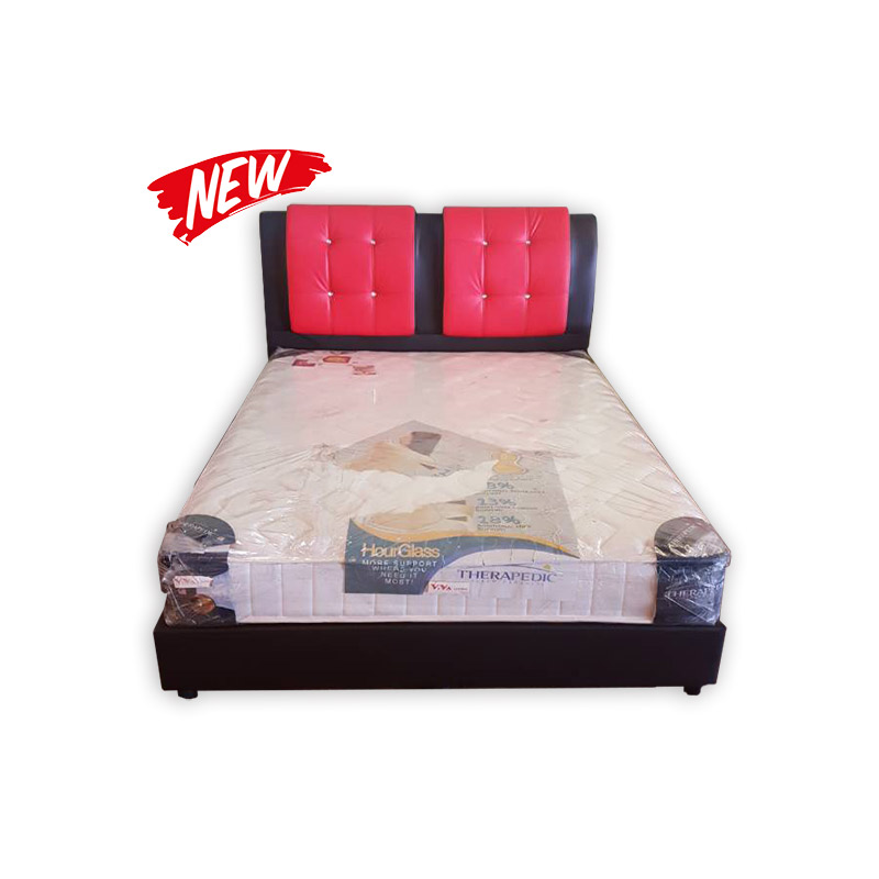 King size mattress with divan and headrest kaki lelong for King size divans for sale