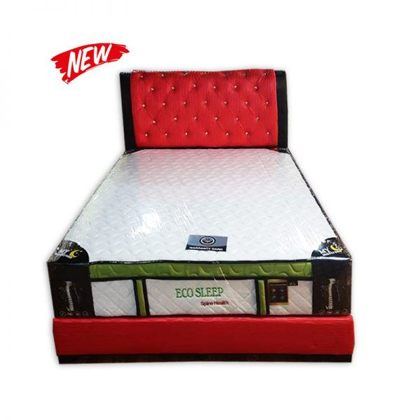 King-size Mattress with Divan and Headres