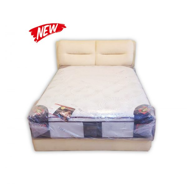 King-size Mattress, Divan and Headrest