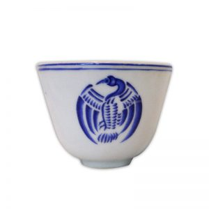 Chinese Tea Cup Blue Dragon