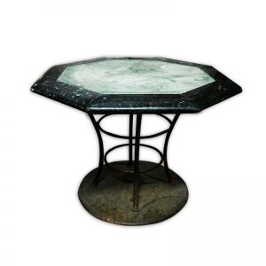 Octagon Granite Top Coffee Table
