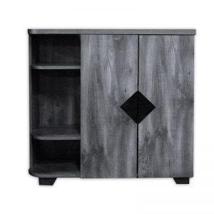 Modern Wooden Grey Cabinet