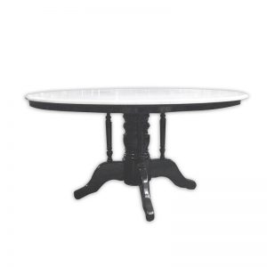 Restaurant Dining Table with Marble Top