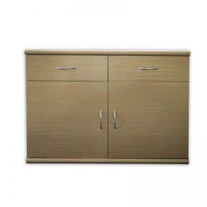 Wooden 2 door and 2 drawer Cabinet