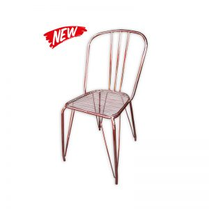 Brass Wired Chair