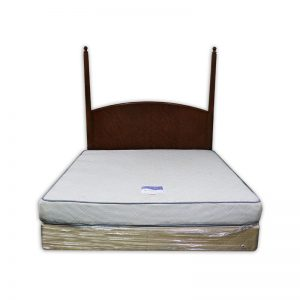 King-size Mattress with Divan and Headboard